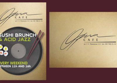 Opera Sushi i Jazz Brunch flyer